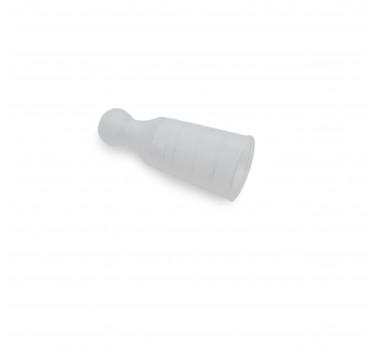 Мундштук одноразовый с кругляшкой, 3,3см, 100шт оптом - 10021064