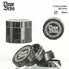 Гриндер металлический DOPE BRONS на 4 секции, 50 мм