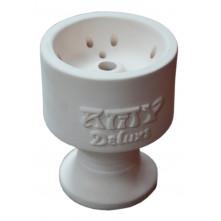 Чаша для кальяна с белой глины AMY 9.5х6,5х1,5см