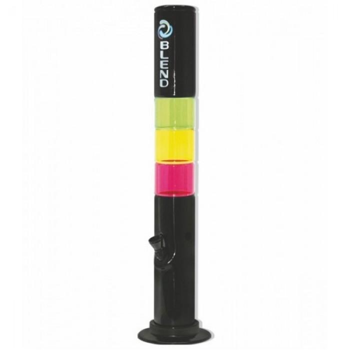 Бонг акриловый Blend Theme Black H:30cm Ø:40mm