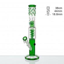 Бонг стеклянный Grace Glass OG Series Green H;38 Ø:44 SG:18.8mm