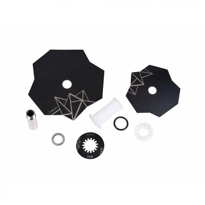 Кальян Embery Mini Mono - Flip White-Black оптом - 41177