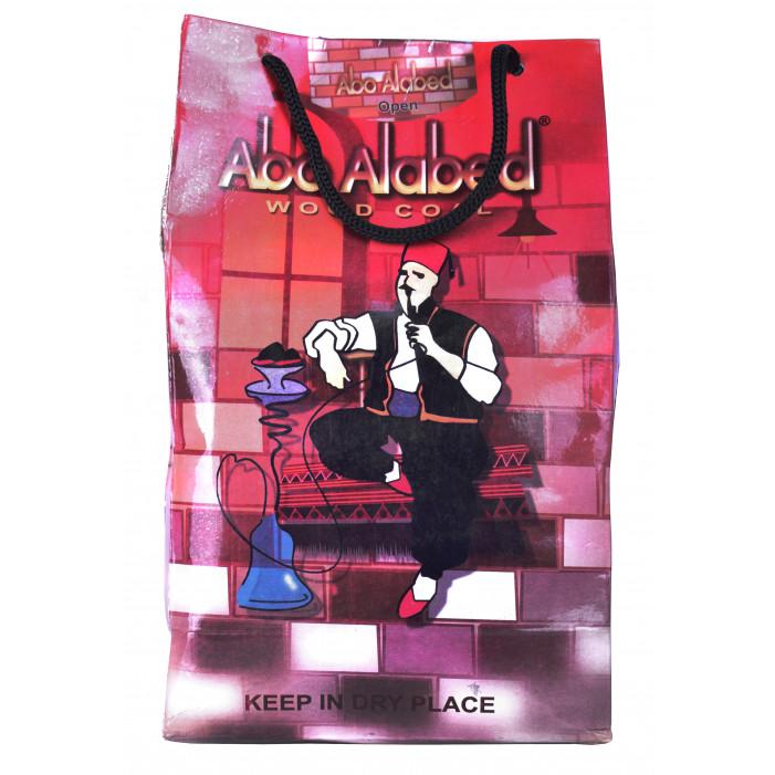 Уголь древесный для кальяна Аладдин, 1кг оптом - 46002