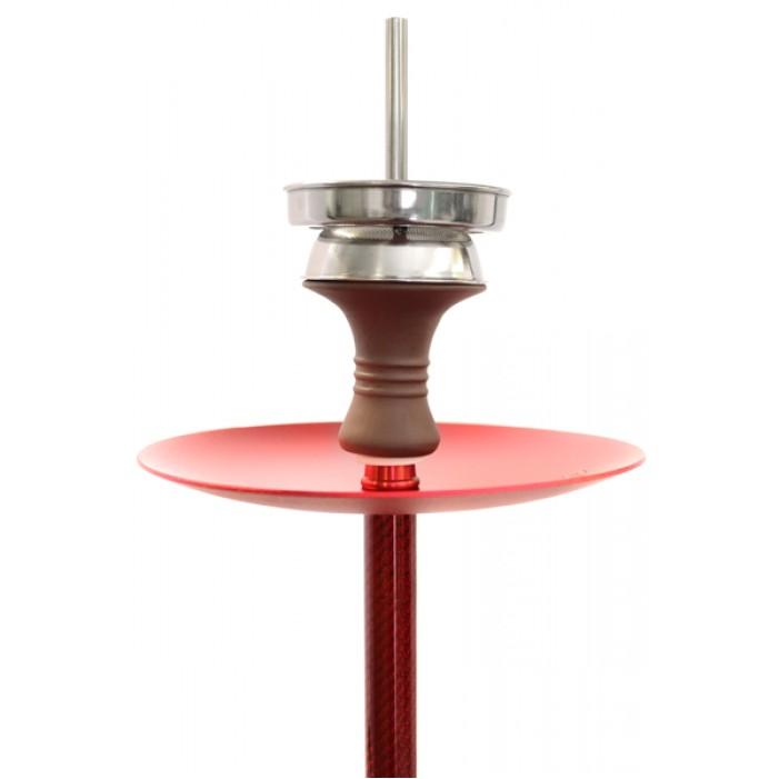 Кальян Kaya ELOX 580 BORO Clear Carbon Red 2S оптом - 21461
