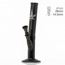 Бонг стеклянный Hangover Mat Black Art H:27 см Ø:29mm