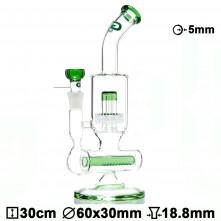 Бонг стеклянный Grace Glass LABZ Series | Nautilus H;30 Ø:60SG:18.8mm