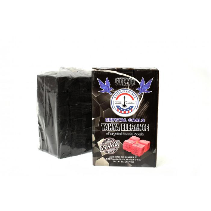 Уголь кокосовый Coco Yahya Elegance 2.5*2.5, 1кг оптом - 26043