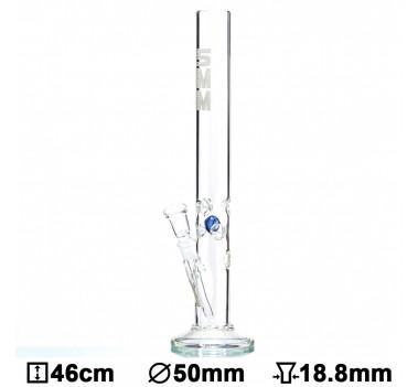 Бонг стеклянный 5MM - H:46cm- Ø:50mm- Socket:18.8mm
