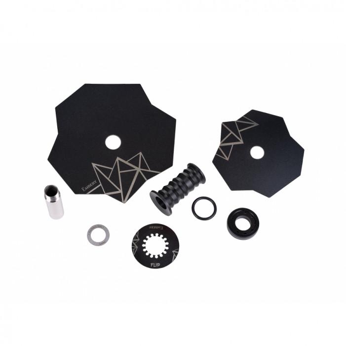 Кальян Embery Mini Mono - Flip Silver-Black оптом - 41169