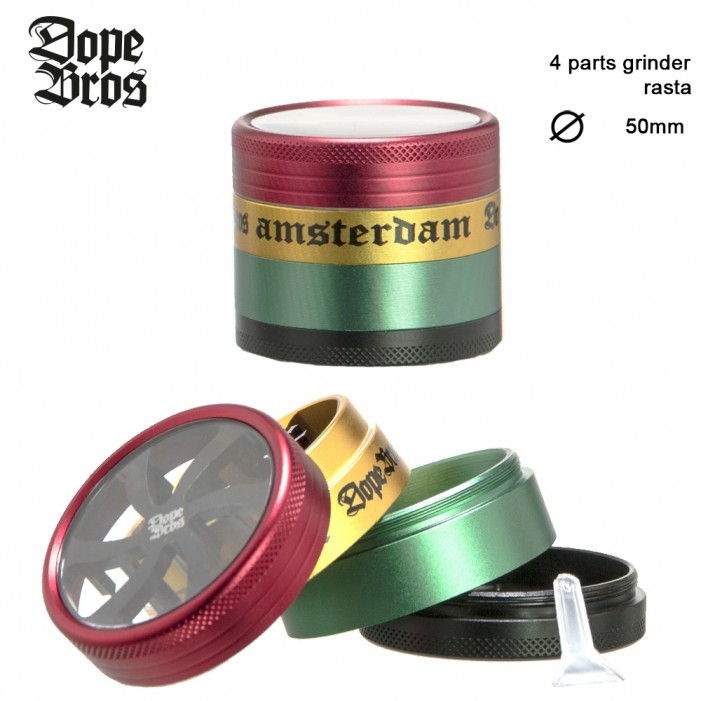 Гриндер Dope Bros AMSTER - 4part-Ø:50mm
