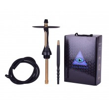 Шахта Alpha Hookah Model S Black Matte