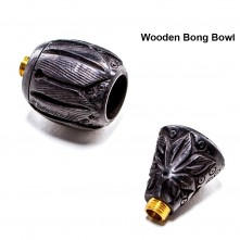 Колпак Wooden bong bowl black