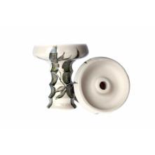 Чаша для кальяна Embery JS-Funnel Bowl partially glased white bamboo