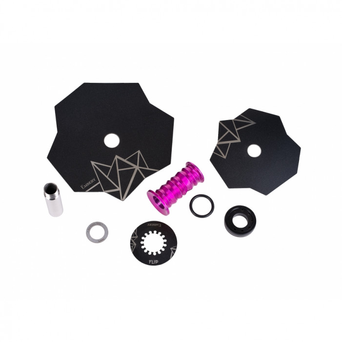 Кальян Embery Mini Mono - Flip Purple-Black оптом - 41178