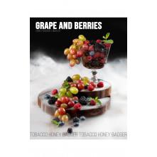 Табак для кальяна Honey Badger Grape and Berries (Виноград-ягоды), Mild 40гр