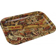 Поднос металлический RAW MIX METAL ROLLING TRAY - SMALL W: 17.5cm H: 27.5cm