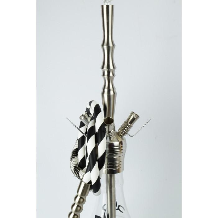 Кальян DUD Crystal Grip stainless stee, H:85cm